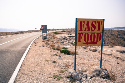 Fast food in the desert