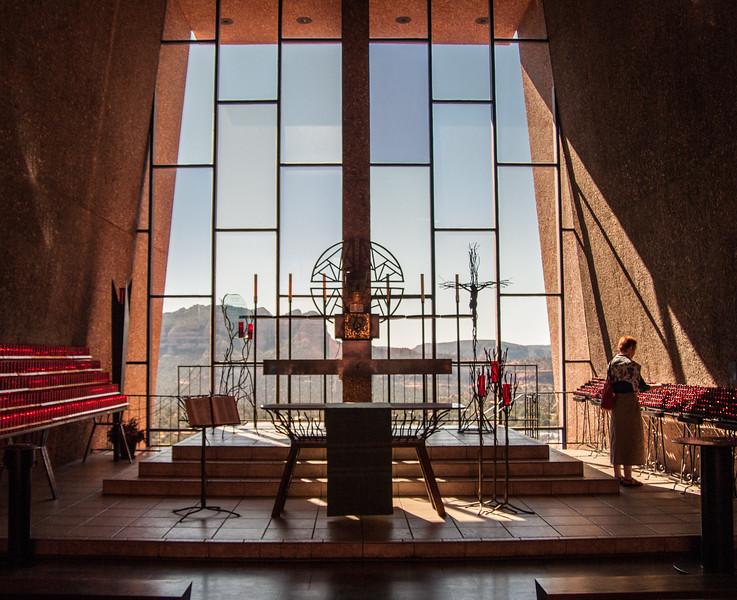 Modern Church near Sedona, AZ