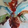 Flower Explosion II-Hibberd, 50x50