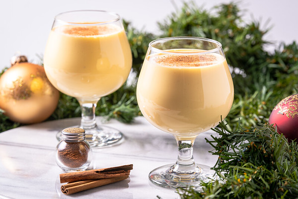 Eggnog photo shoot for the December issue of Loveland and South Magazine.