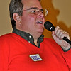 Emcee and event organizer Mark Roberts.