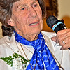 Principal guest speaker was Betty Budde, among the pioneer female aviators in WWII. She regaled the audience with tales of her experiences as a WASP (Women Air Force Service Pilots).