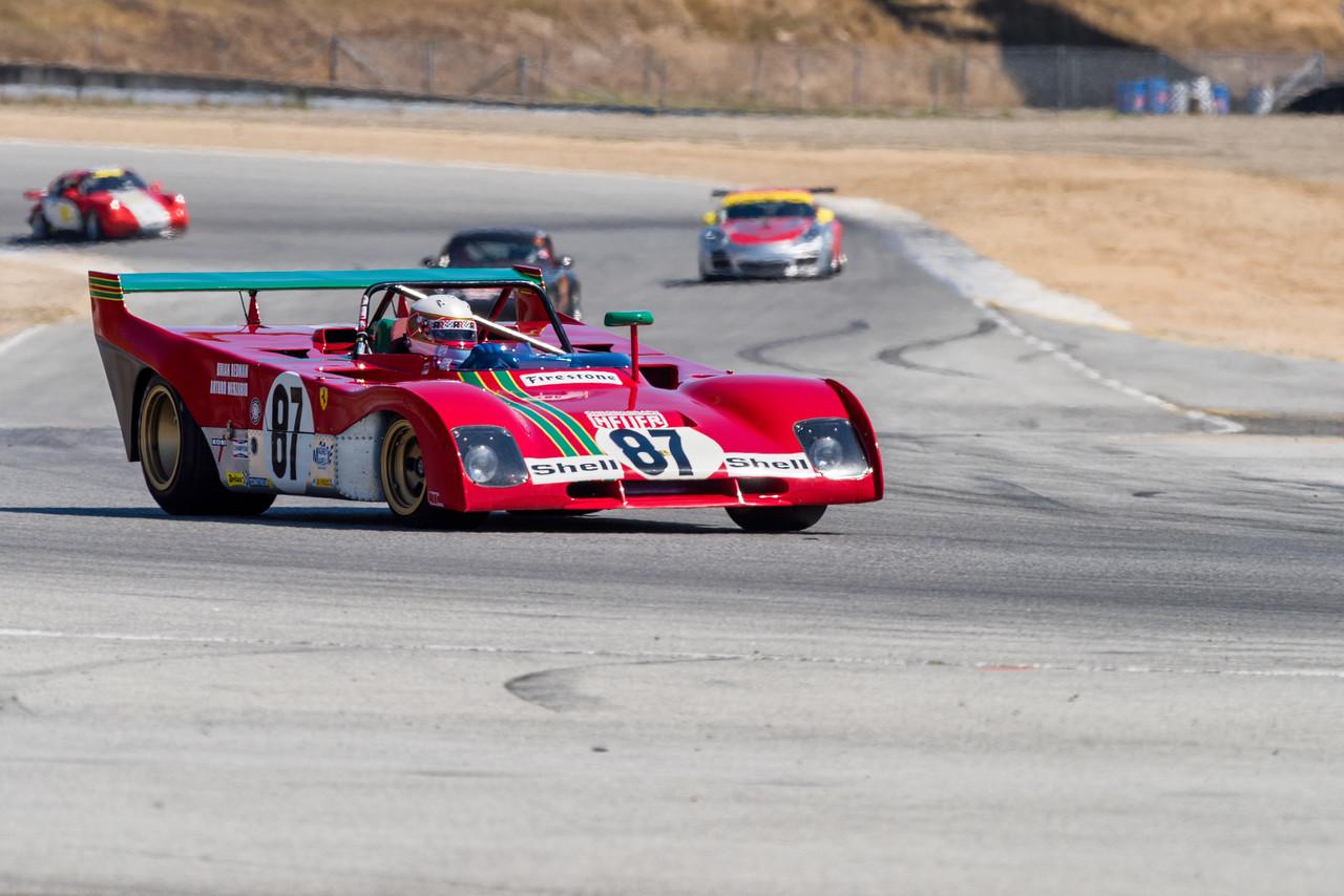 Ferrari 312PB entering Turn 11
