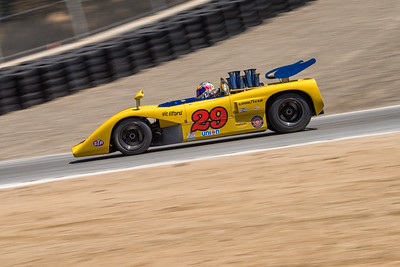 McLaren M8E heading into Turn 9