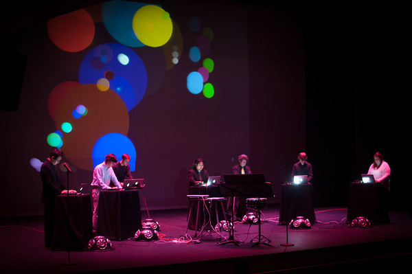 November 14, 2012 Laptop Orchestra at the Manship Theatre