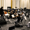 Joseph Meyer rehearses with the LSU Symphony Orchestra. This image is the property of Louisiana State University and may not be used, reprinted or reproduced without the express written permission of the LSU College of Music & Dramatic Arts.