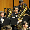 LSU Symphonic Winds performs at the LSU Student Union . This image is the property of Louisiana State University and may not be used, reprinted or reproduced without the express written permission of the LSU College of Music & Dramatic Arts.