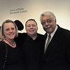 Post-performance reception. Brian Shaw, Rufus Reid.<br /> <br /> This image is the property of Louisiana State University and may not be used, reprinted or reproduced without the express written permission of the LSU College of Music & Dramatic Arts.