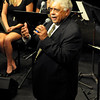 """LSU Jazz Ensemble performed with Rufus Reid at the World Premiere of """"Quiet Pride"""" Feb. 28-29 at Manship Theatre in Baton Rouge, Louisiana. This image is the property of Louisiana State University and may not be used, reprinted or reproduced without the express written permission of the LSU College of Music & Dramatic Arts."""