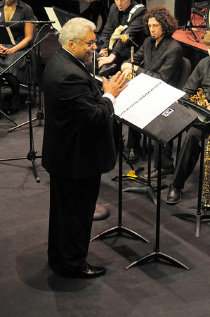 February 28, 2012 Rufus Reid with the LSU Jazz Ensemble