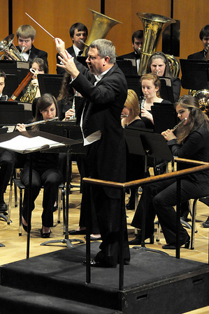 February 29, 2012 Symphonic Band with Roy King
