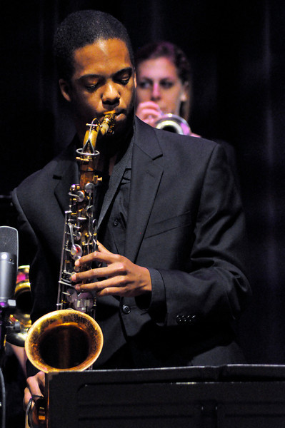 The LSU Jazz Area Showcase performs at the LSU Student Union in Baton Rouge. This image is the property of Louisiana State University and may not be used, reprinted or reproduced without the express written permission of the LSU College of Music & Dramatic Arts.