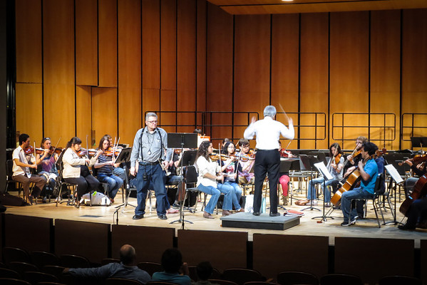April 26, 2013 Beethoven Festival with the LSU Symphony Orchestra and LSU Choral Ensembles performs Beethoven's 9th