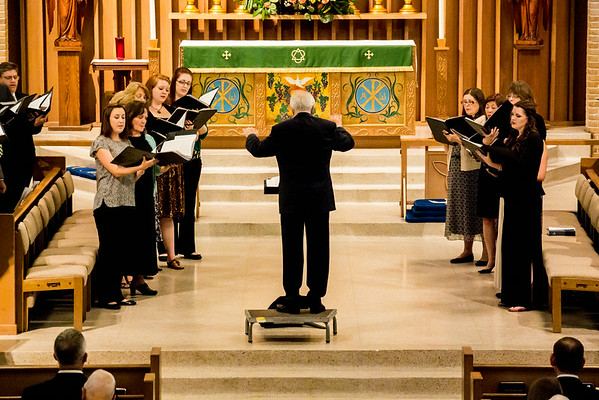 June 26, 2014 Evensong Service featuring Stephen Cleobury and Reception