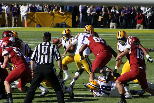 LSU VS ARKANSAS 13