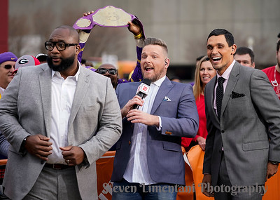 Marcus Spears, Pat McAfee, David Pollack