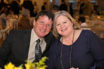 LSU AgLeadership Class XII alumni and Louisiana Farm Bureau DeSoto Parish President Joey Register, and his wife Lisa, attended the LSU AgLeadership Class XV graduation.