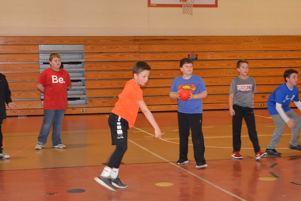 LT 4th grade after school Dodge ball
