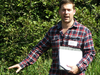 Current CFL grad student, Steve Powers, describes his research on nutrient flow and cycling in Northern Wisconsin streams and wetlands.