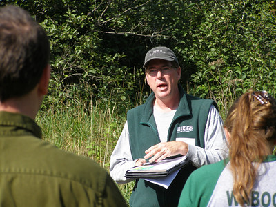 John Walker, with the USGS and co-principle investigator of NTL-LTER, talks about hydrological models the USGS is using to explain how hydrological processes like groundwater/surface water exchange and streamflow changes affect aquatic ecosystems.