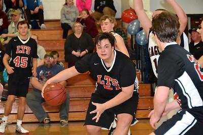 LTS Boys JV Basketball vs Arlington photos by Gary Baker