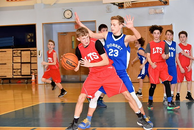 LTS M.S. Boys Basketball vs DES photos by Gary Baker