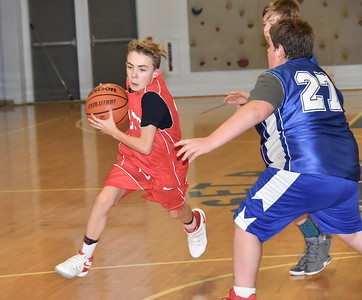 LTS M.S. Boys Basketball vs Dorset photos by Gary Baker