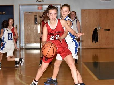 LTS M.S. Girls Basketball vs Dorset photos by Gary Baker