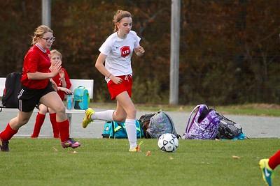 LTS M.S. Girls Soccer vs Castletown photos by Gary Baker