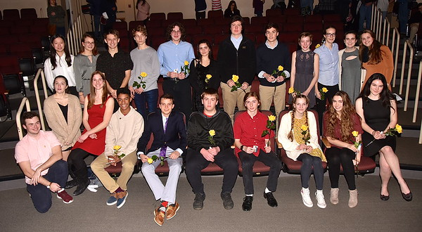 LTS National Honor Society Induction Ceremony photos by Gary Baker