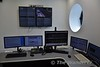 Broombridge Depot Control Room. Used in the event of a failure at Red Cow. Sat 07.07.18