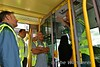 Dave explains the operation of the tram's systems at Broombridge Depot. Sat 07.07.18