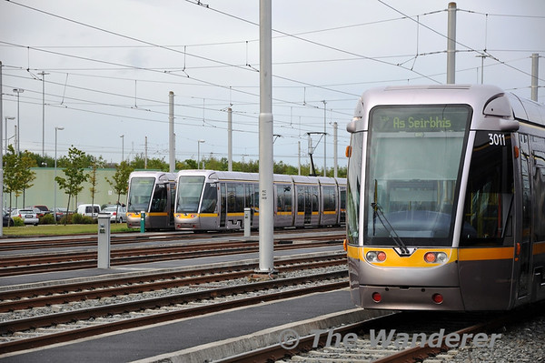 IRRS trip on LUAS Line A1 to Saggart