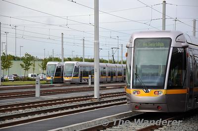 IRRS trip on LUAS Line A1 to Saggart