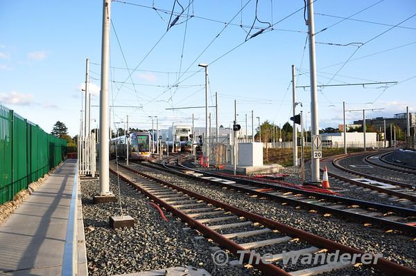 IRRS trip on LUAS Line B1 to Brides Glen (Cherrywood)