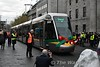 5006 proceeds slowly to the front of the GPO for the launch by Taoiseach Leo Varadkar TD, Transport Minister Shane Ross TD and Minister for Finance & Public Expenditure and Reform Paschal Donohoe TD. Sat 09.12.17