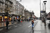 Looking North along O'Connell Street. LUAS Line BXD will travel northwards along O'Connell Street. O'Connell Street Lower stop will be sited across from Easons Newsagents and will provide interchange with Red Line Trams at the nearby Abbey Street Tramstop. Sat 19.01.13