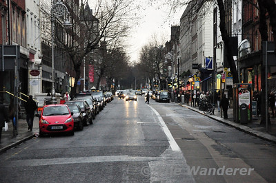 Looking south along Dawson Street.  Sat 19.01.13