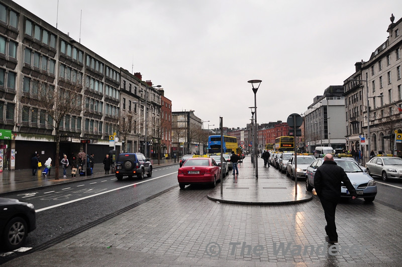 O'Connell Street Upper will be sited where the taxi rank is currently located. Sat 19.01.13