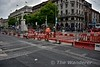 LUAS Crosscity Northbound line crossover has been completed at O'Connell St. with the existing Red Line. Thurs 30.06.16