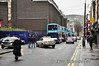 Marlborough St Tram Stop will be located roughly where the buses are parked. Sat 19.01.13
