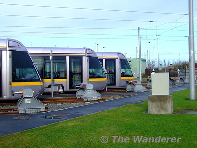 Red Cow LUAS Depot - Saturday 5th December 2009