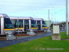 Line up of Trams in the Red Cow Depot Storage Roads. Sat 05.12.09