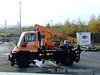 An overhead line inspection truck. Sat 05.12.09