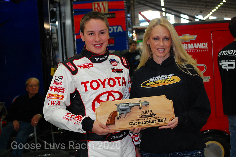 MIDGETMADNESS.COM TOP GUN OF THE YEAR CHRISTOPHER BELL