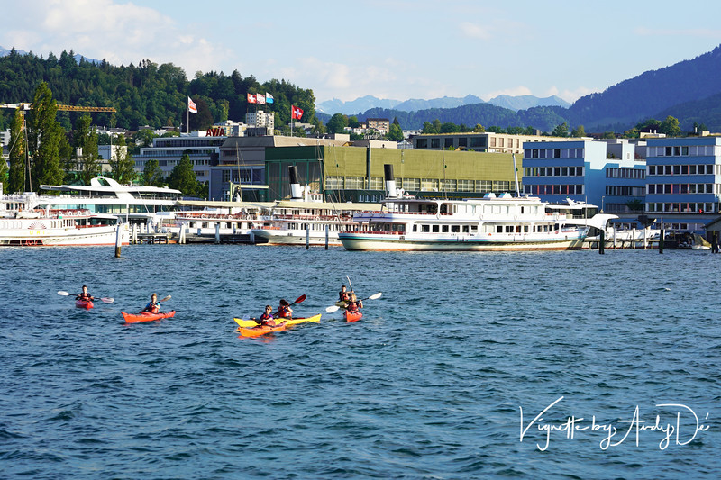 Water sports come alive on Lake Lucerne come Summer!