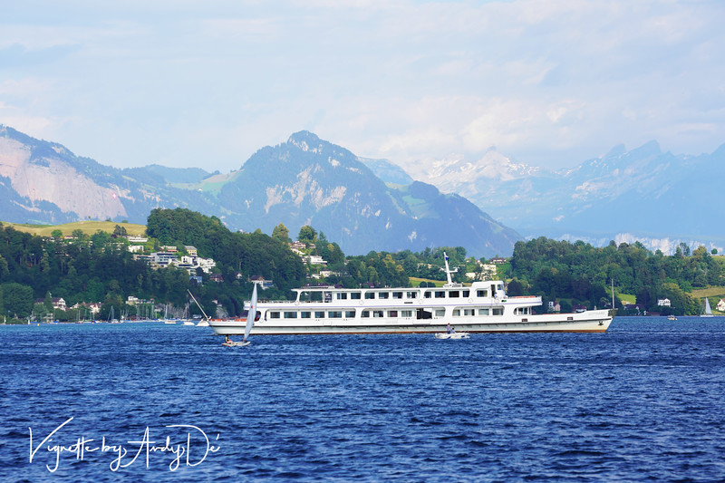 A slew of extremely modern and sleek cruise cruise boats offer not-to-be missed cruises on Lake Lucerne, and also ferry visitors to the Cogwheel Trains that take you up to Mount Rigi and Mount Pilatus!