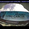Downtown Louisville billboard - LUNG FORCE WALK - Louisville/Turquoise Take Over