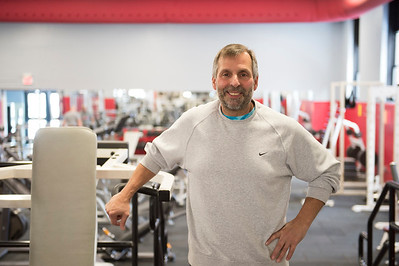 Joed Viera/Staff Photographer-Ultimate Physique owner Bob Muscarella in his gym.