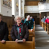 JOED VIERA/STAFF PHOTOGRAPHER-Lockport, NY-Parishioners attend Ash Wednesday service at All Saints Roman Catholic Parish.